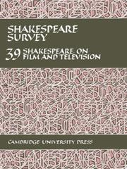 Cover of: Shakespeare Survey 39 | Stanley Wells