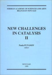 Cover of: New Challenges in Catalysis II | Paula Putanov
