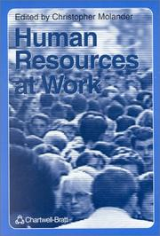 Cover of: Human Resources at Work | Christopher Molander