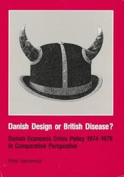 Danish Design or British Disease by Peter Nannestad