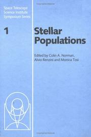 Cover of: Stellar populations | Stellar Populations Meeting (1986 Baltimore, Md.)