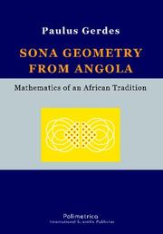 Cover of: Sona geometry from Angola. Mathematics of an African Tradition