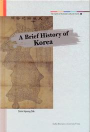 Cover of: A Brief History of Korea | Hyoung Sik Shin