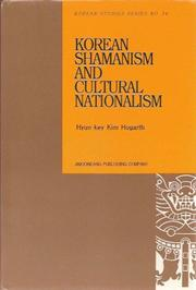 Cover of: Korean Shamanism and Cultural Nationalism