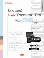 Cover of: Learning Adobe Premiere Pro 1.5 with DVD