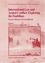 International Law and Armed Conflict by