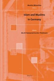 Cover of: Islam and Muslims in Germany (Muslim Minorities) |
