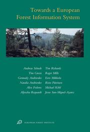 Cover of: Towards a European forest information system
