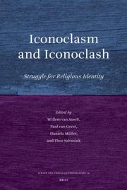 Cover of: Iconoclasm and Iconoclash (Jewish and Christian Perspectives Series) |