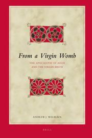 Cover of: From a Virgin Womb | Andrew J. Welburn