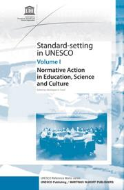 Cover of: Standard-Setting at UNESCO (Standard-Setting at Unesco) | Abdulqawi A. Yusuf