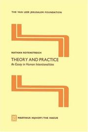 Cover of: Theory and Practice | Nathan Rotenstreich