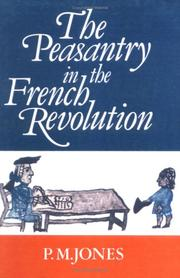 Cover of: The peasantry in the French Revolution