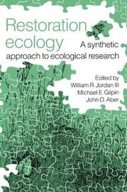 Cover of: Restoration Ecology |