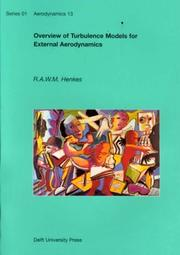 Cover of: Overview of Turbulence Models for External Aerodynamics (Series 01 - Aerodynamics , No 13)