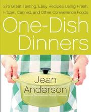 Cover of: One-Dish Dinners