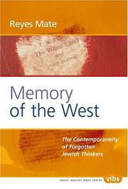 Cover of: Memory of the West