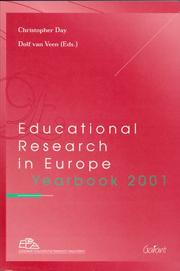 Educational Research in Europe Yearbook 2001