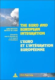 "Cover of: The Euro And European Integration/l'euro Et L'integration Europeenne (Collection ""La Cite Europeenne"", No 21.)"