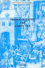 Cover of: Prosopography and computer