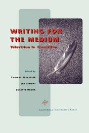 Cover of: Writing for the medium