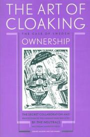 Cover of: The art of cloaking ownership