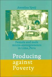 Cover of: Producing against poverty