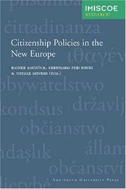 Cover of: Citizenship policies in the new Europe