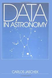 Cover of: Data in astronomy | Carlos Jaschek