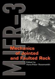 Mechanics Jointed & Faulted Rock (Pro