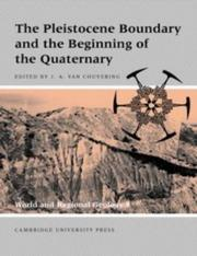 Cover of: The Pleistocene boundary and the beginning of the Quaternary |