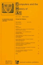 Cover of: Virtual Art History