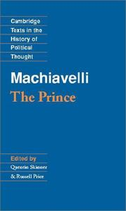 Cover of: Machiavelli