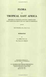 Cover of: Flora of Tropical East Africa - Moraceae (1989) (Flora of Tropical East Africa)