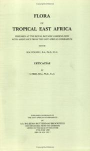 Cover of: Flora of Tropical East Africa - Urticaeae (1989) (Flora of Tropical East Africa)
