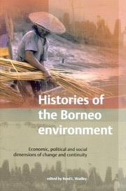 Cover of: Histories of the Borneo Environment | Reed L. Wadley