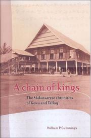 Cover of: A Chain of Kings