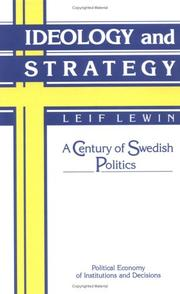 Cover of: Ideology and Strategy