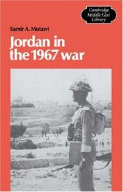 Cover of: Jordan in the 1967 war by Samir A. Mutawi