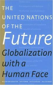 Cover of: The United Nations of the Future | Willem van Genugten