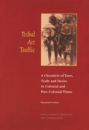 Cover of: Tribal Art Traffic | Raymond Corbey
