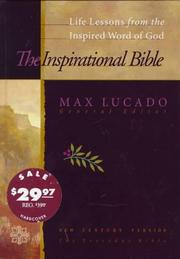 Cover of: Inspirational Bible: Life Lessons from the Inspired Word of God