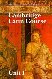 Cambridge Latin course.