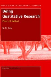 Cover of: Doing Qualitative Research