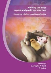 Cover of: Gaining the Edge in Pork and Poultry Production |