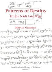 Cover of: Patterns Of Destiny | Martin Gansten