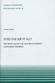 Cover of: Does One Size Fit All?