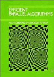 Cover of: Efficient parallel algorithms | Gibbons, Alan