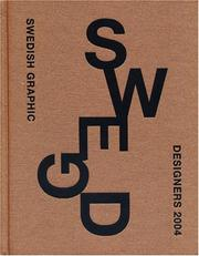 Cover of: Swedish Graphic Designers 2004 |