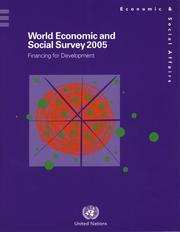 Cover of: World Economic and Social Survey 2005 | United Nations.